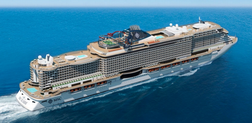 A Trieste MSC Seaside, la nave dei record